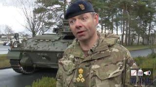 """140 britische Panzer neu nahe Komplex Paderborn: """"Optionen für Operationen"""""""