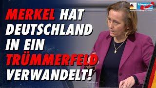 Merkel hat Deutschland in ein Trümmerfeld verwandelt - AfD-Fraktion im Bundestag