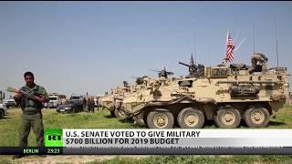 Senate Votes to Give Military $700 Billion