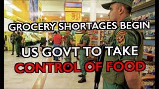 ALERT: Feds Take Control of Food/Trucking as Grocers UNABLE to Get Food