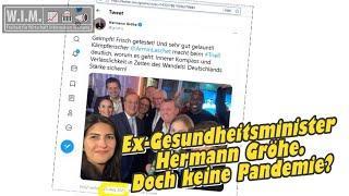 Ex-Gesundheitsminister Hermann Gröhe. Abstände und Masken? Lachen sie über Wähler?