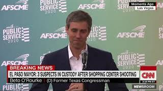 Creepy footage of O'Rourke laughing about shooting. False Flag