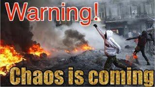 Warning: Food chain is broken!! Prepare now.