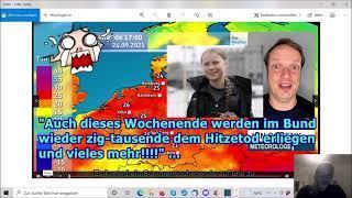 """""""Dieses Wochenende Massensterben durch Hitzewelle im BUND, usw.!!!"""" ..."""