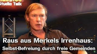 Raus aus Merkels Irrenhaus: Selbst-Befreiung durch freie Gemeinden - Wolfgang Eggert im NuoViso Talk