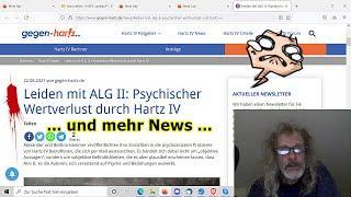 """""""Leiden mit ALG II: Psychischer Wertverlust durch Hartz IV!!!"""" ..."""