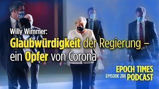 Willy Wimmer: Glaubwürdigkeit der Regierung – ein Opfer von Corona