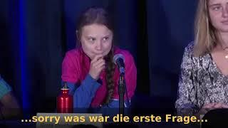 September 2019: Greta Thunberg ohne Drehbuch - Deutsch
