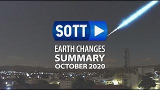 Oktober 2020: Extreme Weather, Planetary Upheaval, Meteor Fireballs