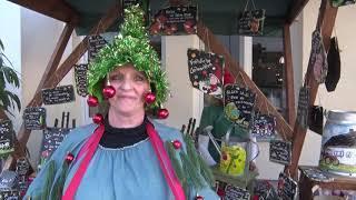 Erster Satireweihnachtsmarkt öffnete seine Pforten in Burgstädt