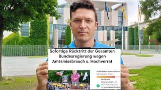 """Petition """"Sofortige Rücktritt der Gesamten Bundesregierung"""" #Berlin #Kanzleramt"""