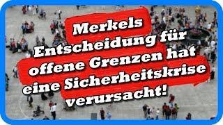 Ex-Chef des Geheimdienstes: Merkels offene Grenzen haben eine Sicherheitskrise verursacht!