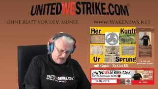 UNITEDWESTRIKE Radio-Marathon: Her Kunft, Ur Sprung mit TeCutEli Wake News Radio/TV 20150214