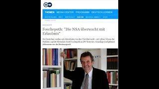 Aufklärung: Der Volkslehrer und die Rolle der Geheimdienste in Deutschland