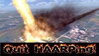 Quit HAARPing on California! Directed Energy Weapons?