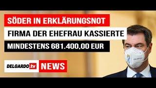 Markus Söder in Erklärungsnot: Steuergelder an die Firma seiner Frau