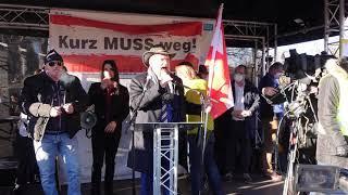 AT/DE: 06.03.2021 Wien - Rede Alexander Ehrlich bei der FPÖ-Kundgebung im Prater #kurzmussweg