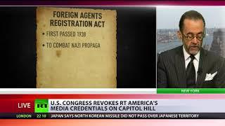 Access denied: US Congress withdraws RT America's accreditation on Capitol Hill