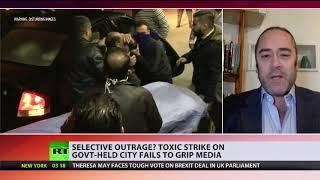 Giftgasangriff auf Aleppo – wo bleibt die globale Empörung?