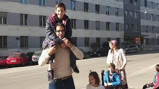 26.2.2021: Vor der Grazer Bildungsdirektion – ein Vater steht auf FÜR seine Kinder ????????????❤️???