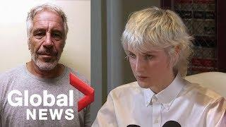 Woman accusing Jeffrey Epstein of alleged sex assault details incident