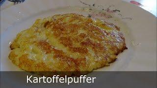 Der perfekte Kartoffelpuffer   schnell und einfach