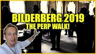 Bilderberg 2019 Attendees Perp Walk! THEY REFUSE TO SPEAK!