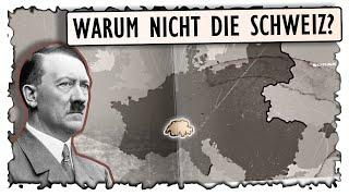 Zweiter Weltkrieg - Weshalb blieb die Schweiz verschont? -