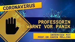 Coronavirus: Prof. Dr. Karin Mölling warnt vor Panik | 21. März 2020 | www.kla.tv/15916