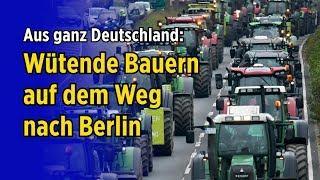 """Wütende Bauern auf dem Weg nach Berlin - """"Land schafft Verbindung"""" organisiert Sternfahrt und Demo"""