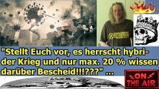 """""""Stellt Euch vor, es herrscht hybrider Krieg und nur max. 20 % wissendarüber Bescheid!!!???"""" ..."""