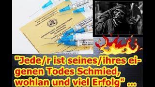 """""""Jede/r ist seines/ihres eigenen Todes Schmied, wohlan und viel Erfolg"""" ..."""