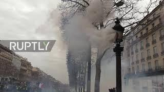 France: 'Yellow Vests' clash with police in Paris as protests hit 17th week