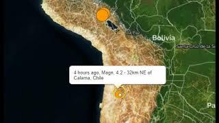 Strong M7.1 Earthquake Strikes Peru