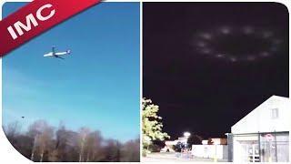 Es ist nicht zu glauben - Plane Stops Mid-Air, UFO and more