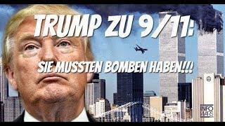 """Donald Trump: """"Bei 9/11 waren Bomben im Spiel!"""" Das vergessene Interview auf deutsch"""