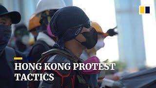 Organisierte Demos in Hong Kong