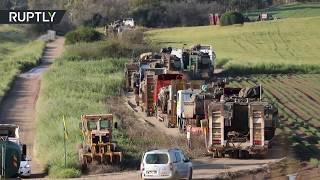 RAW: IDF deploys tanks to Gaza border amid escalation with Hamas