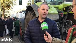 Landwirte demonstrieren in Bielefeld gegen WDR-Berichterstattung