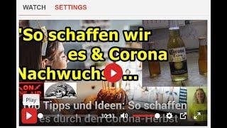 """""""SO SCHAFFEN WIR ES & CORONA NACHWUCHS!!!"""" ..."""