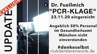 PCR-Klage eingereicht. Update Dr. Fuellmich. Öffentlich einsehbar.