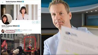 Mann mit Messer+Presseausweis, Gewalttäter behindern GEZ-Demo und WDR-Ex-Chefredakteurin mittendrin