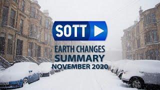 November 2020:  Extreme Wetterlagen - Feuerbälle - Hagel - Schneestürme - Überschwemmungen