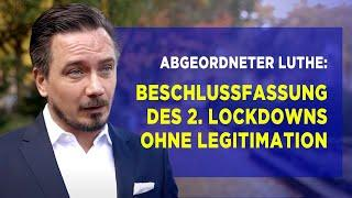 "Abgeordneter Luthe: ""Regierungen agieren nicht faktenbasiert"""