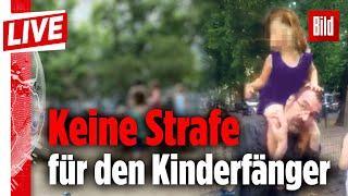 Kindesentführer Berlin wieder auf freiem Fuss - NRW 30.000 Verdächtige Kinderhandel uvam.