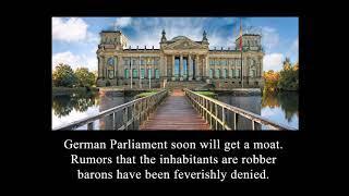 10 Meter breiter BURGGRABEN vor Reichstagsportal geplant !!