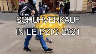 wegen der Killerseuche ....lol....Unglaublich: Mitten auf der Strasse in Deutschland Schuhe kaufen 2