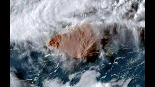 1000's flee as HUGE Dark Plume SOARS out of Caribbean Volcano! | Rare Cyclones do the IMPOSSIBLE!