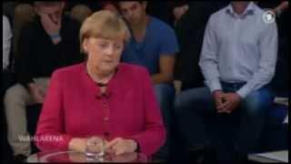 """'Wahlarena' Merkel - Leiharbeit...""""Ein besonders krasser Fall"""""""