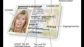 Das Polit-Business / Die Wahrheit über neuen Personalausweis